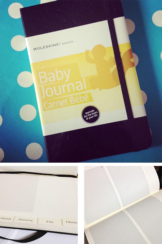 Schwangerschaftstagebuch - Baby Journal - Moleskine