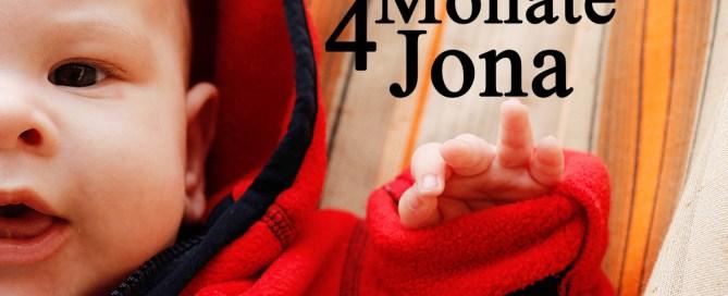 4 Monate Jona - großer Entwicklungssprung und noch mehr gute Laune