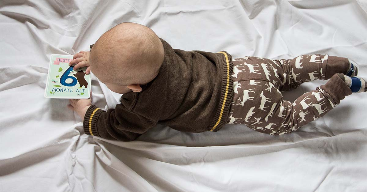 6 Monate Jona - Robben, Tragen, Trinkstreik