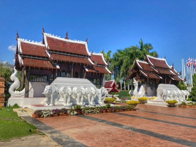 Botanischer Garten Chiang Mai, thailändische Lebensart