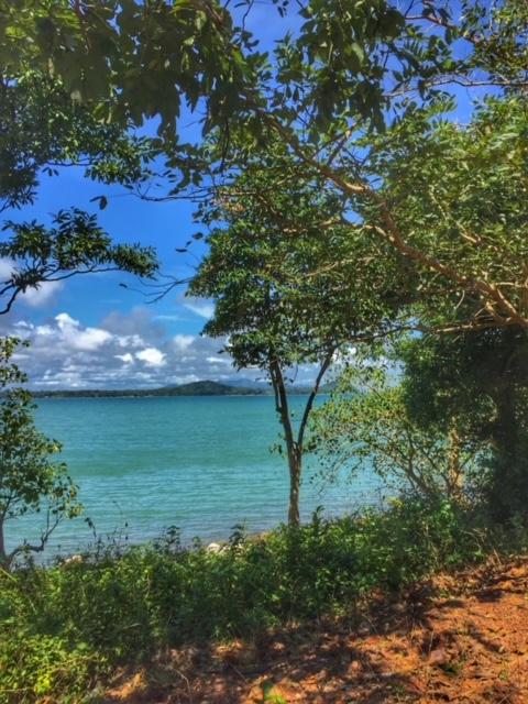 Meeresansichten im November Chumphon Thailand