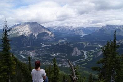 Blick auf Banff, Foto: ©Denise Ott