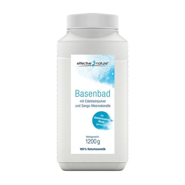 Basisches Basenbad