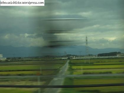 Bild aus dem Shinkansen
