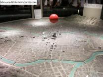 Stadt und Bombe