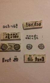 Stempel, Radiergummi, DIY