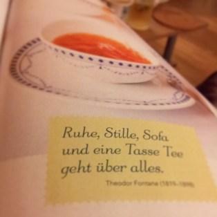 Tee, Spruch, Zeitschrift