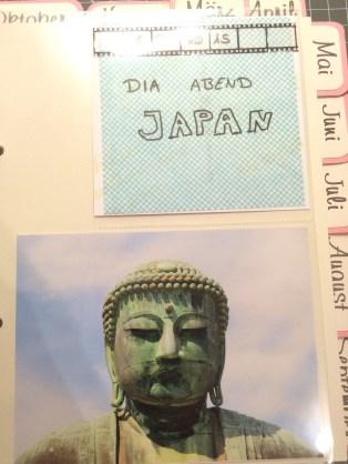 Memory Book, Japan, Februar