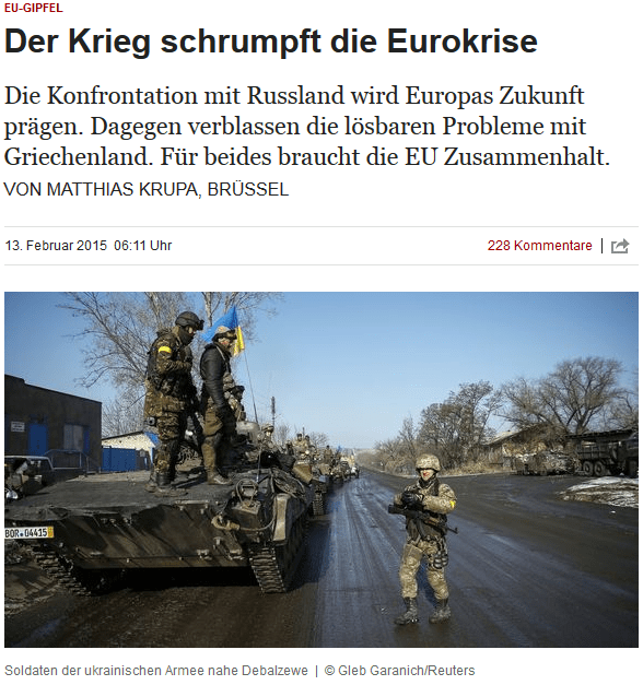 Deutscher Panzer in der Ukraine