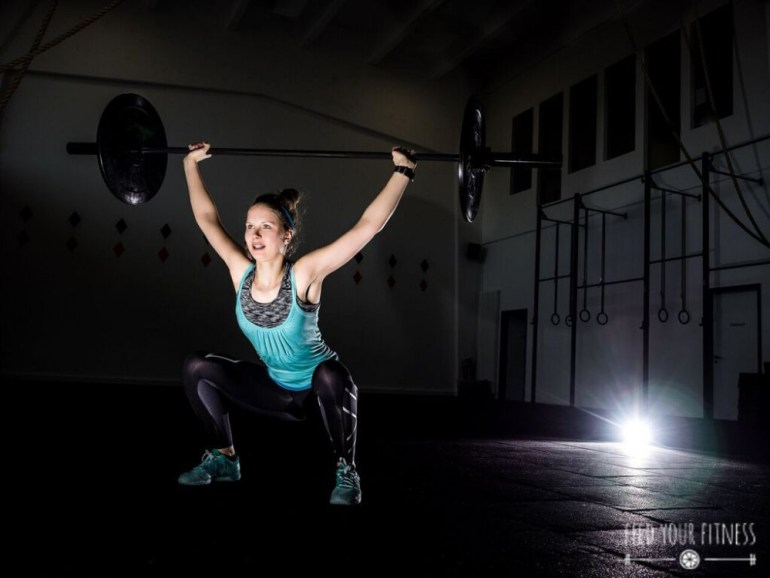 Dein CrossFit Start WOD, AMRAP & andere Vokabeln Overhead Squat