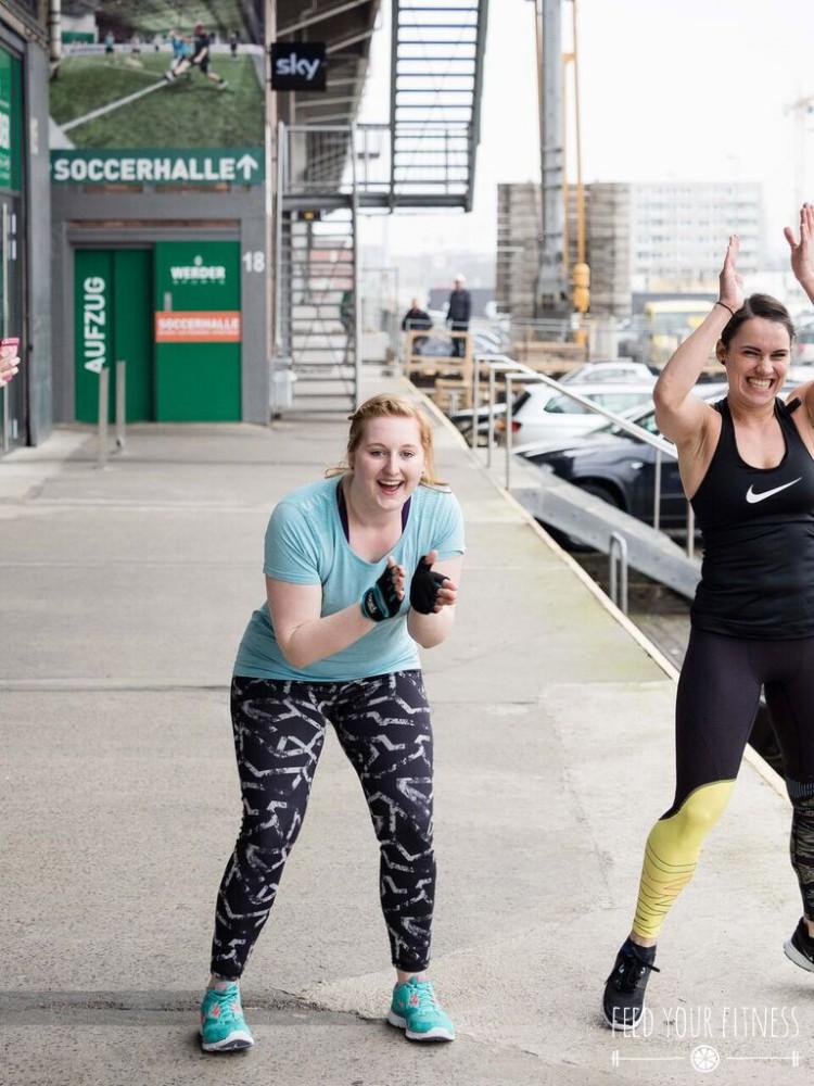 Großes Anfeuern beim CrossFit Bloggertreffen von FEED YOUR FITNESS