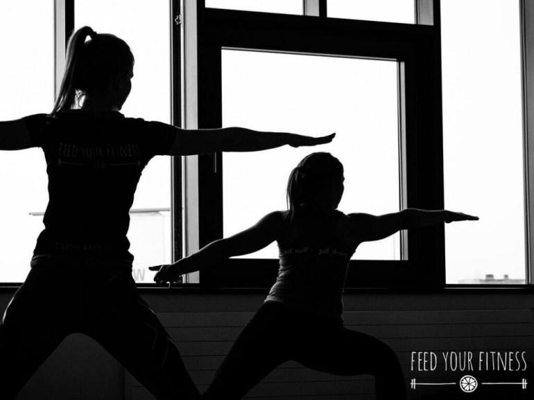 Instagram Bloggertreffen von FEED YOUR FITNESS Yoga Kriger