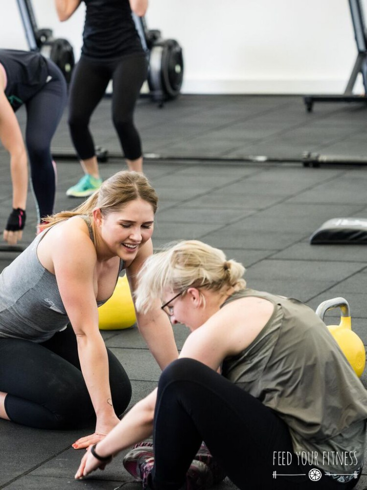 Motivation beim CrossFit Bloggertreffen von FEED YOUR FITNESS