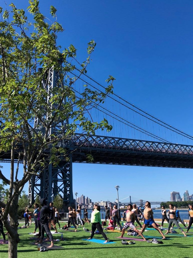Domino Park Brooklyn Williamsburg New York