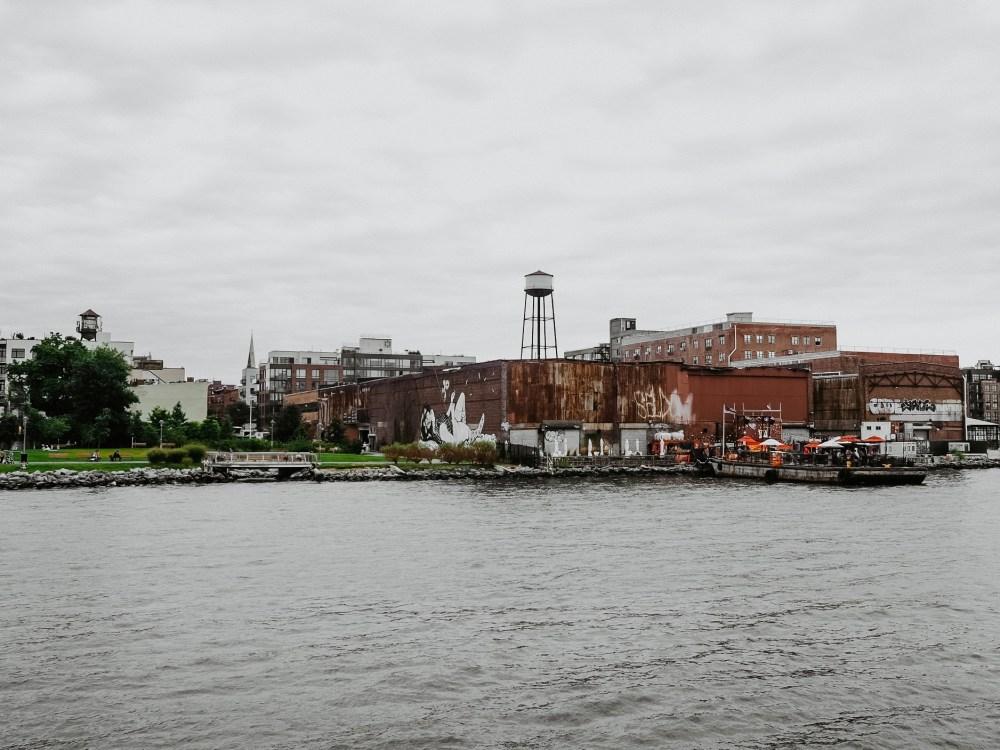 Ein Tag in Greenpoint, Brooklyn New York City