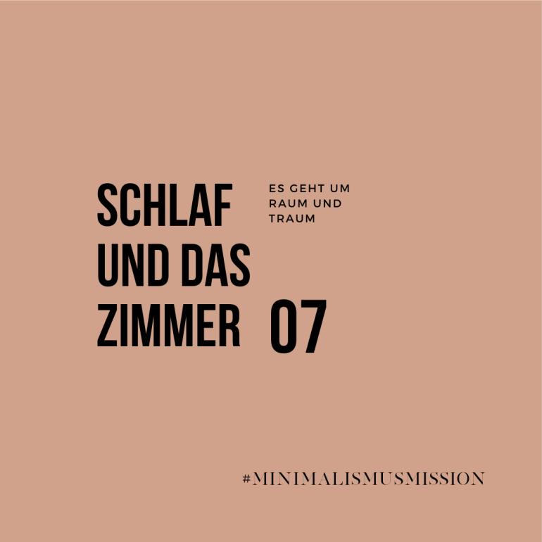 10 Tage Minimalismus Challenge auf lebensverliebt.de | Das Schlafzimmer