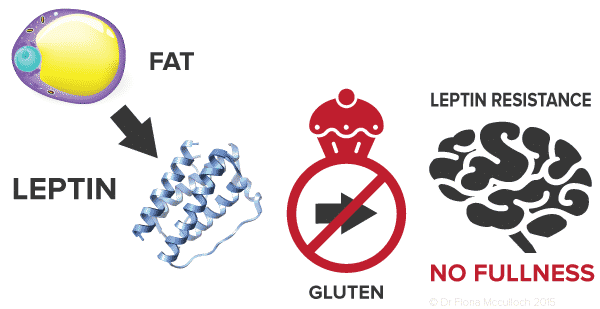 gluten-and-leptin-resistance-illstration