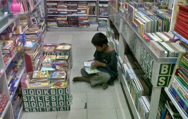 La Tartine du Dimanche matin #3 : L'enfant qui préférait lire plutôt qu'aller mendier