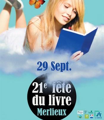 La 21e Fête du Livre de Merlieux-et-Fouquerolles s'annonce fin septembre !