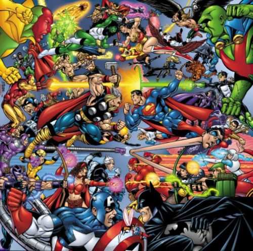 Comics DC Marvel