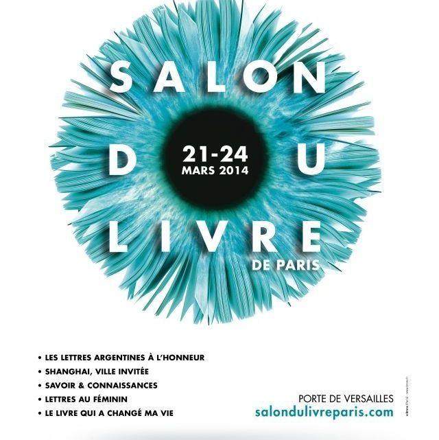 Le Salon du Livre de Paris 2014 se tiendra du 21 au 24 mars