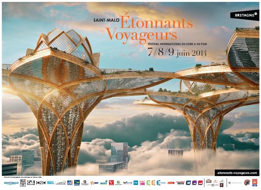 Etonnants Voyageurs 2014, Conférence #4 : Un monde fantastique