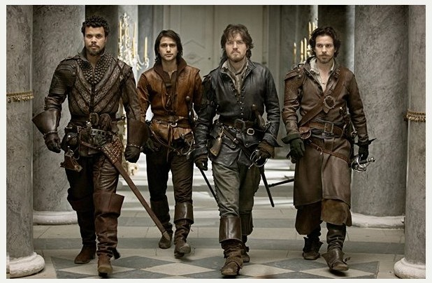 The Musketeers, saison 1