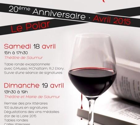 Journées nationales du Livre et du Vin de Saumur 2015 [Compte rendu]