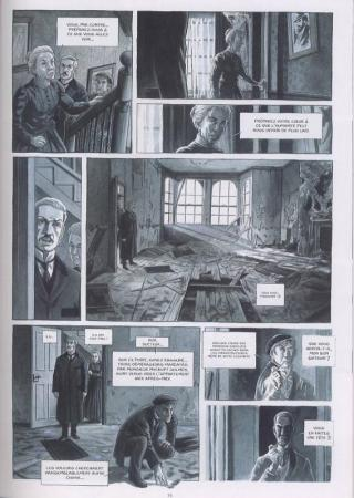 Holmes tome 1 planche 1