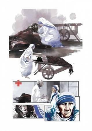 Mère Teresa planche 1