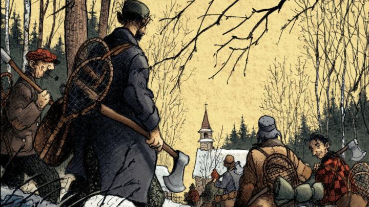 Magasin général, tome 3 : Les hommes