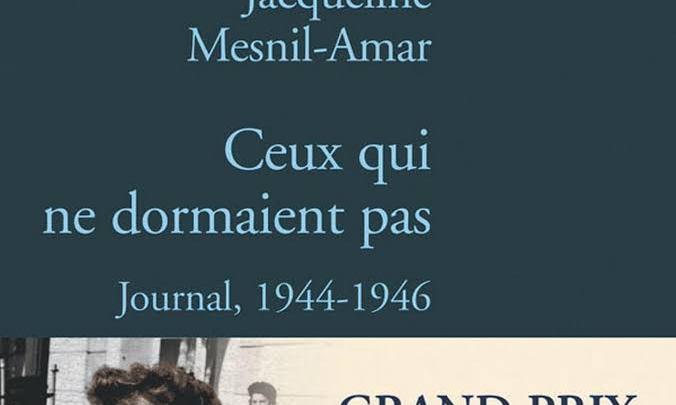 Ceux qui ne dormaient pas : Journal, 1944-1946