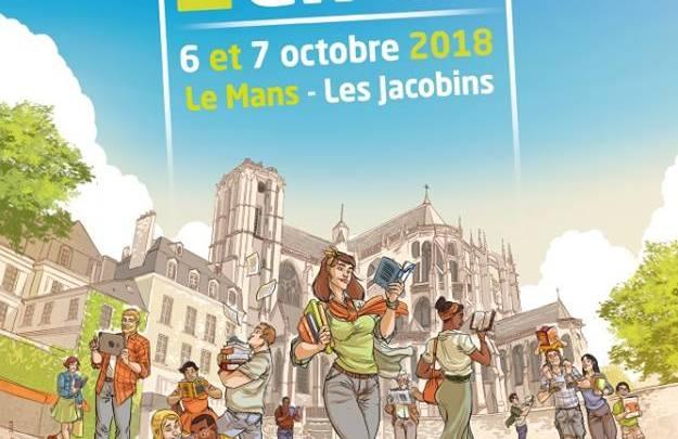 Les invités de la 25e Heure du Livre du Mans 2018