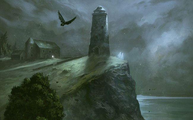 Magie grise, tome 1 : Le phare au corbeau