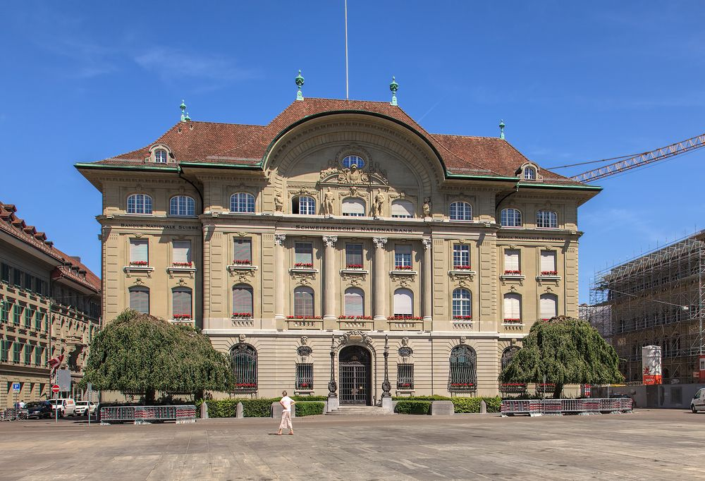 Swiss National Bank, an institution that governs Swiss treasury bonds