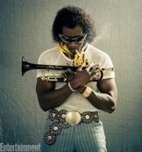 Première photo de Cheadle en Miles Davis / Droits réservés