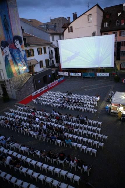 La place Scanavin prendra des airs de salle de cinéma - Image droits réservés