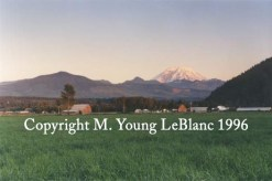 Enumclaw Sunset in Washington State