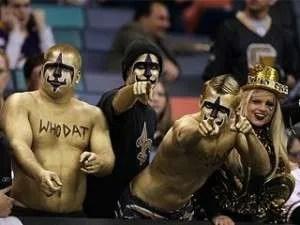 Saints-fans