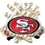49ers-gloves