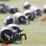 Rams-helmets