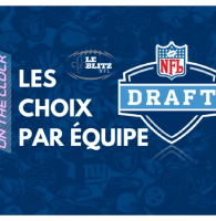 Tous les Choix par équipe – Repêchage NFL 2018