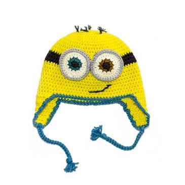 Tuto – Le bonnet minion pour enfant