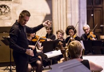 Missa Omnium Sanctorum, Messe de Tous les Saints de Zelenka, compositeur baroque, par l'Ensemble Amati et l'Ensemble vocal Maurice Duruflé dirigés par Didier Beloeil à Rouen
