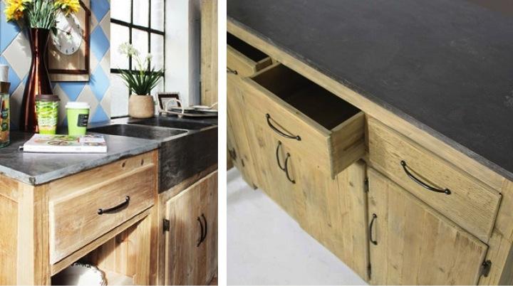 cuisine-meuble-independant-bois-brut-recycle