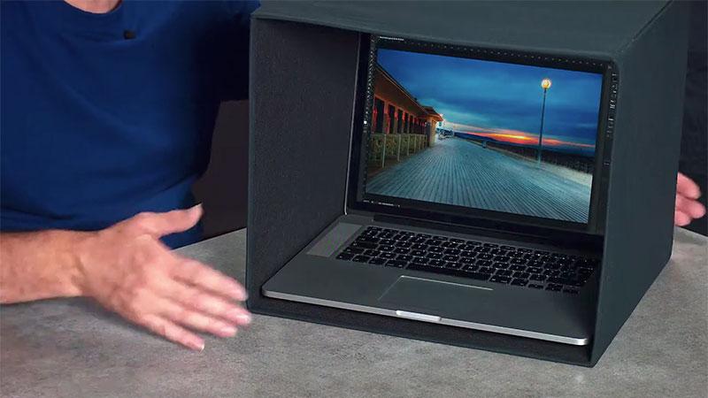Une cabine noire pour votre ordinateur portable