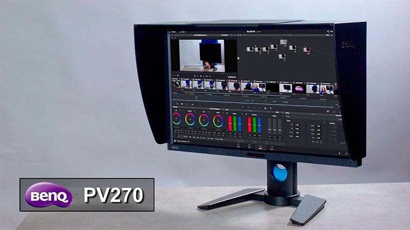 BenQ PV270 l'écran polyvalent vidéo et photo à prix doux