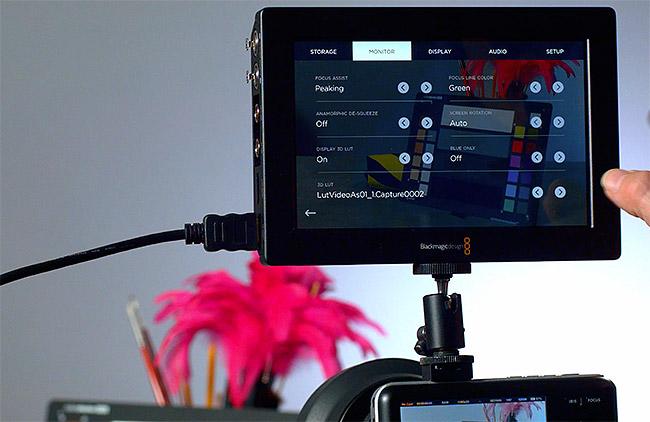 Créer une Lut pour votre Video Assist