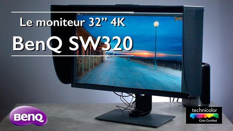 Le moniteur BenQ SW320