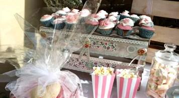 cagettes bohème liberty cupcake